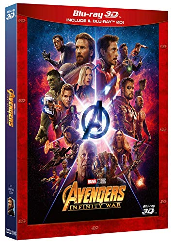 Avengers - Infinity War (3D) (Blu-Ray 3D+Blu Ray) [Italia] [Blu-ray]