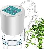 FeelGlad Automatic Drip Irrigation Kit, sistema de riego automático con manguera de 10 m, temporizador programable de 15 días para jardines, terrazas, jardín o plantas en maceta