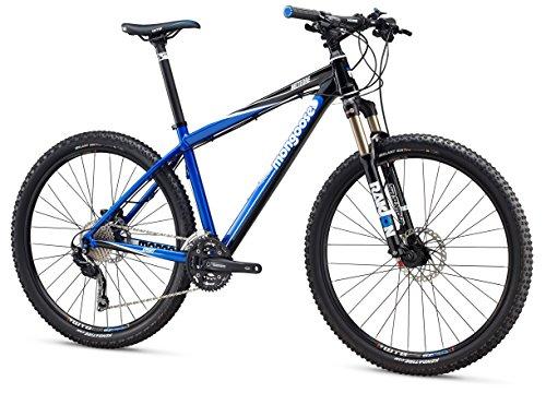 Mongoose Meteore Sport Mountain Bike 27.5' Wheel, Blue