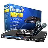 Mr Entertainer MKP100 Karaoke Reproductor de DVD, con Dos micrófonos