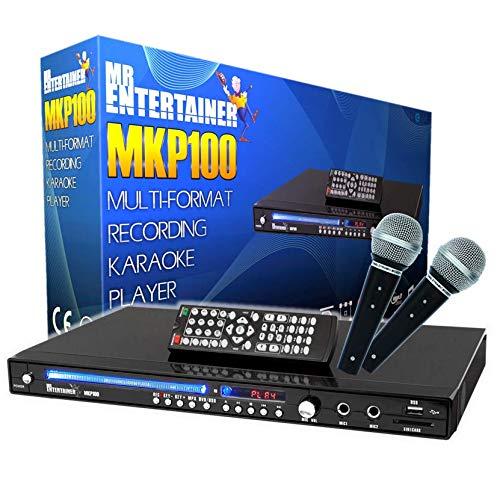 Mr Entertainer MKP100 CDG DVD MP3G Karaoke Machine Player. Aufnahme Karaoke-Maschine. HDMI/Rip/USB