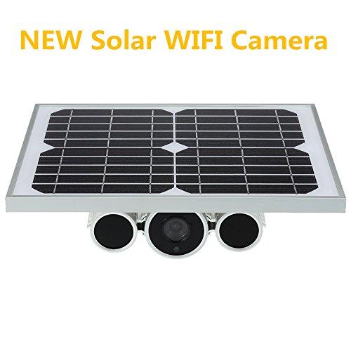 generación de energía Solar WiFi ONVIF IP P2P cámara con 80m...