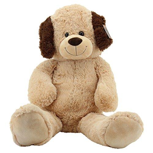 Sweety Toys 10202 Hund BUDDY Plüschhund Kuschelhund XXL Riesen Teddy BEIGE 100 cm