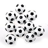 SODIAL(R) Futbolin 10pcs 32mm Futbolin de Mesa plastico Bola del Futbol de Tableta