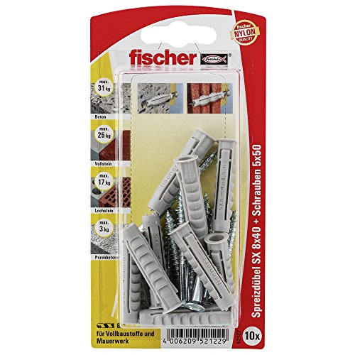 FISCHER CHEVILLES FI SB SX8 X40 GKS K