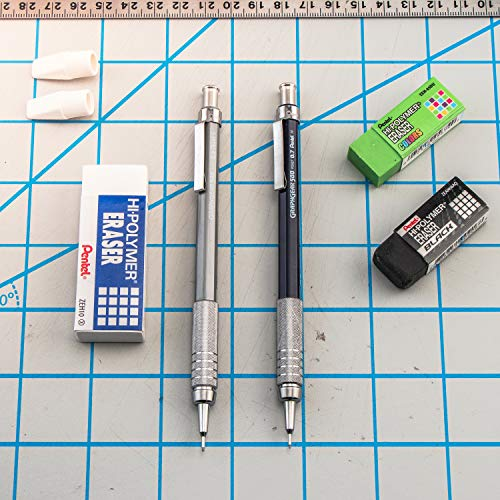 Pentel Graph Gear 500 Automatic Drafting Pencil with Lead and Mini Eraser, 0.5 mm (PG525LEBP) Photo #7