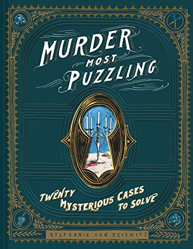 Product Image of the Murder Most Puzzling: 20 Mysterious Cases to Solve (Murder Mystery Game, Adult...