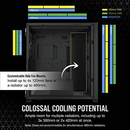 CORSAIR 7000D Airflow Full-Tower ATX PC Case, Black