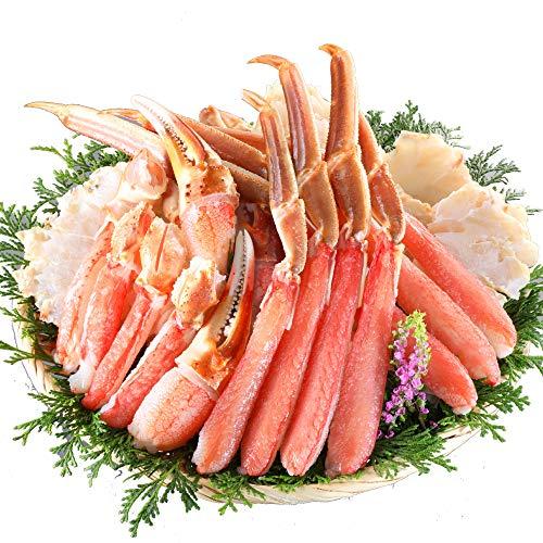 鮮度の鬼 生 ずわいがに 超特大 5L 1kg 2~3人分 かに ズワイガニ カニ 蟹 ポーション カニ刺し かに鍋 かに...