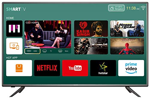 Kevin 124 cm (49 inches) Full HD LED Smart TV KN49FHD (Black) (2019 Model)