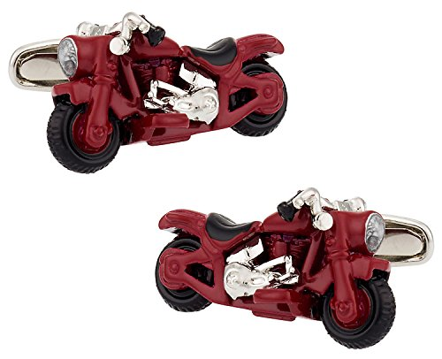 Cracked Pepper Regalo Detallada Motocicleta Gemelos