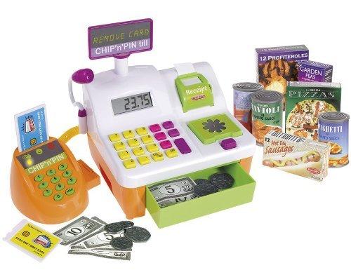 Casdon Chip 'n' Pin - Caja registradora de juguete , color/