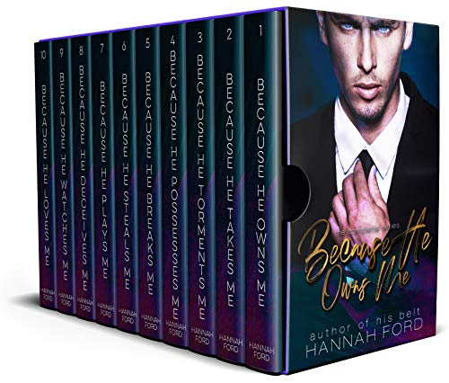 Because He Owns Me: The Complete Series Box Set (1-10)