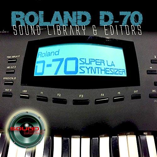 para ROLAND D-70 Gran Fábrica Original & NUEVA Creada Biblioteca de Sonido & Editores en CD o descargar