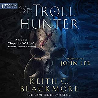 The Troll Hunter audiobook cover art