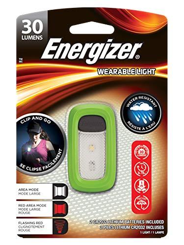 Energizer E301422001 Wearable Clip Light LED Camping-Leuchte 30 lm batteriebetrieben Grün
