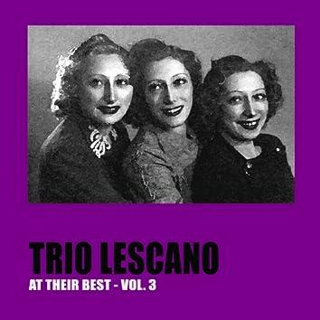 Trio Lescano at Their Best, Vol. 3 (feat. Carlo Moreno, Luciana Dolliver, Michele Montanari)