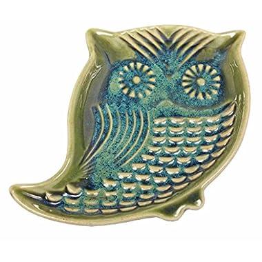 Owl Garlic Oil Dish