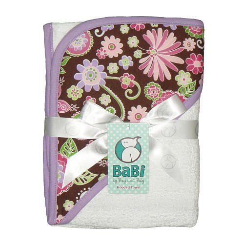 tickle Fancy Hooded Towel – White by brag About Baby