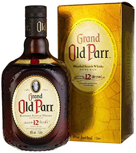 Grand Old Parr 12 Years Old De Luxe Scotch Whisky mit Geschenkverpackung  (1 x 1 l)