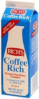 Coffee Rich Non-Dairy Creamer - 32 oz. carton, 12 cartons per case