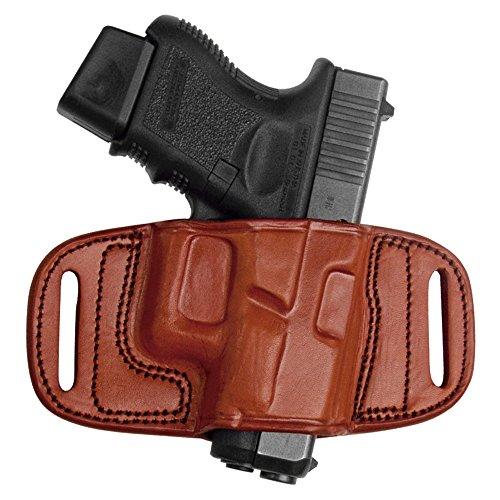 Tagua BH2-102 Quick Draw Belt Holster, Beretta 92FS-96 Taurus PT-92-PT99-PT100-PT101, Brown, Right Hand