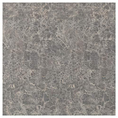 SIBBARP specialtillverkad väggpanel 1 m² x 1,3 cm mörkgrå marmoreffekt/laminat