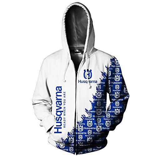 Martin Hoodies,Chaquetas,Camiseta,Pantalones-Cortos Hus_Qv-Ar_Na 3D Completo Impresión Cárdigan Delgado Hombre Y Mujer Casual Poliéster Sweatshirt Clásico/B/L