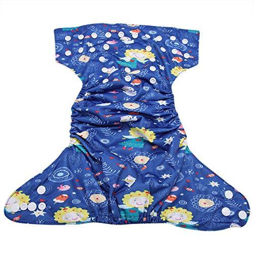 BITHEOUT Pañal Reutilizable para bebés, cómodo pañal para Nadar para bebés Elástico, Transpirable, Reutilizable para Llevar a su bebé y llevarlo al bebé(BL027)