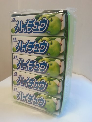 ハイチュウ グリーンアップル 7粒入×20個