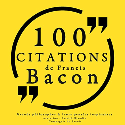 100 citations de Francis Bacon Titelbild