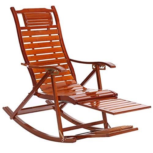 Chaise Lounge Chair reclinabile sedia a dondolo per esterni Sedia a dondolo pieghevole per Patio Beach Yard Lawn Pool