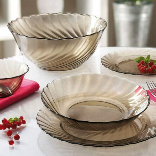 3 qt Glass Serving Mixing Bowl for Salads, Snacks