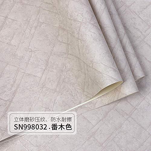 ACCEY Carta da parati a motivi geometrici in stile nordico reticolo scuro moderno e minimalista soggiorno camera da letto semplice carta da parati carta da parati casa blu grigio-Banyan 10 * 0,53 M