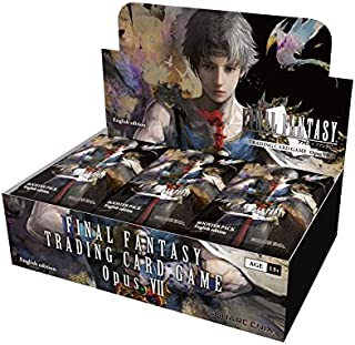 Final Fantasy TCG: Opus VII Collection Booster Display
