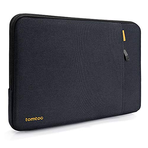 tomtoc 360 Protective Laptop Sleeve for 13-inch New MacBook Air with Retina Display A1932, 13 Inch New MacBook Pro with USB-C A2159 A1989 A1706 A1708, Laptop Case Bag with Accessory Pocket