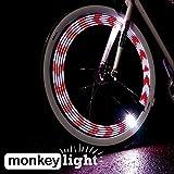 Monkey Light M210 Éclairage Pour Velo - 10 LEDs - 19 Motifs - Étanche
