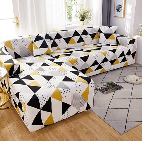 TOPCHANCES Don't miss the campaign L Shape Couch Covers Sofa Oklahoma City Mall 2-Pieces for C Sectional