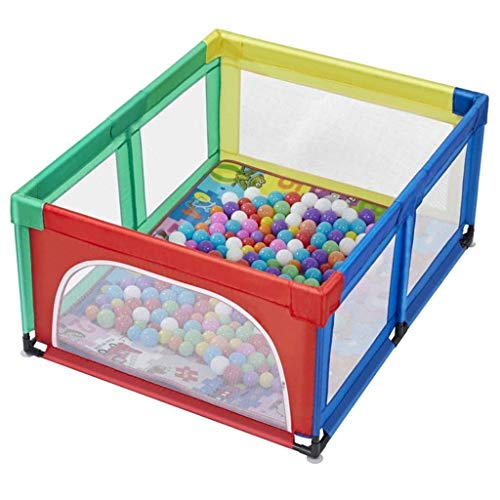 Best Price Playpens Baby Fence Play Yard Easy Fold Indoor Childrens Play Area for Toddlers Babies Children Baby Play Fence