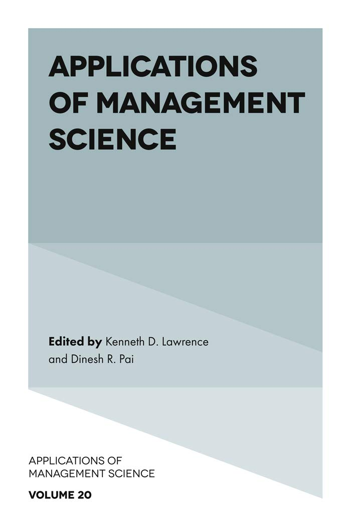 Applications of Management Science