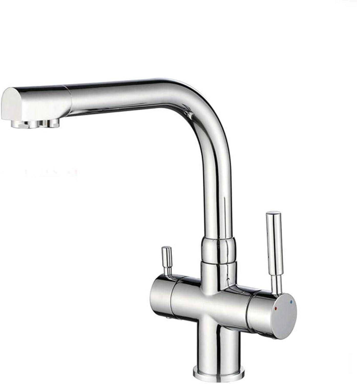 Yuanshuai88-Faucet Küchenhahn Teller Becken Wasserhahn Wasserfilter