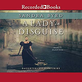 A Lady in Disguise audiobook cover art