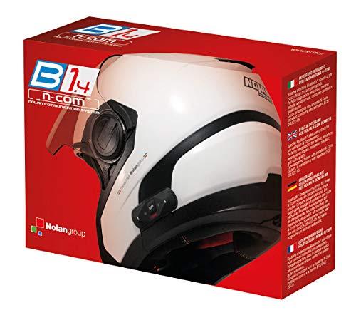 Nolan N-Com N-Com Kit de intercomunicador con Bluetooth para Casco de Moto B1.4 N104 Absolute/N104 EVO/N104/N87/N44EVO/N44/N40FULL/N40