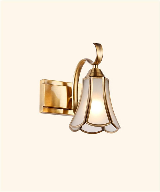 YANZHEN-Badezimmer Wandleuchte LED-Spiegel Vorne Lichter Spiegel Schrank Lichter Badezimmer WC Make-up-Beleuchtung Schlafzimmer American Style Wandleuchte -Wand Spiegel Licht (Farbe   A-1 Light)