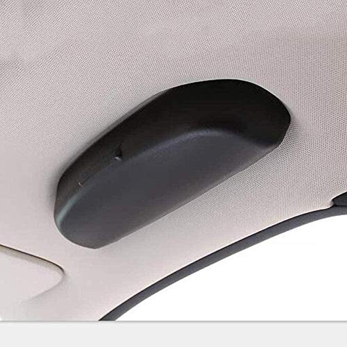 Estuche para Gafas de Coche, paraMercedes Benz W203 W204 W205 W210 W124 W212 W211 CE Clase Accesorios Soporte para Gafas de Sol Caja de Almacenamiento-Negro GGKYX