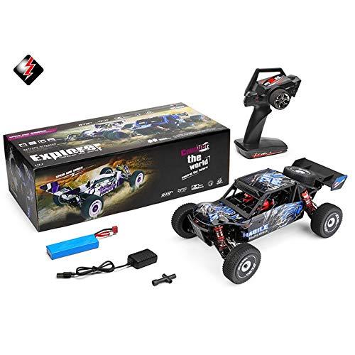 MODELTRONIC Professionelles RC-Auto Buggy Rally Wltoys XKS 124018 Antrieb, 4 x 4 Sender 2,4 GHz, Maßstab 1:12, hohe Geschwindigkeit von 60 km/h, mit Motor 550
