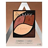 Almay Intense I-Color Enhancing Eyeshadow Palette, Longlasting Primer Enriched Eye Makeup with Antioxidant Vitamin E, Hypoallergenic and Cruelty Free, 010 Brown Eyes, 0.1 oz.