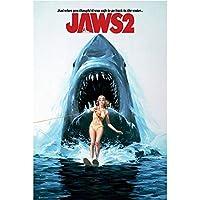 JAWS ジョーズ - One Sheet/Jaws 2 / ポスター 【公式/オフィシャル】