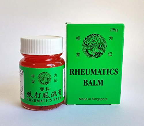 3 Packs Rheumatics Balm 28g - 祥龙为记双料跌打风湿膏 28g (三瓶装) 8887103011063