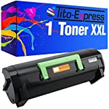 PlatinumSeries 1 Toner XXL compatible para Lexmark MS-310 MS310D MS310DN MS312DN MS310DN MS410D MS410DN MS510DN MS610DE MS610DN MS610DTE MS610DTN | 50F2H00 Negro 5,000 páginas